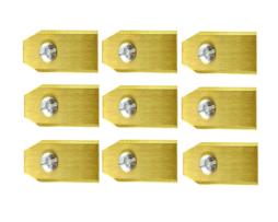 Roboter Mäher Messer McCulloch – Satz Von 9 Ganz Titan